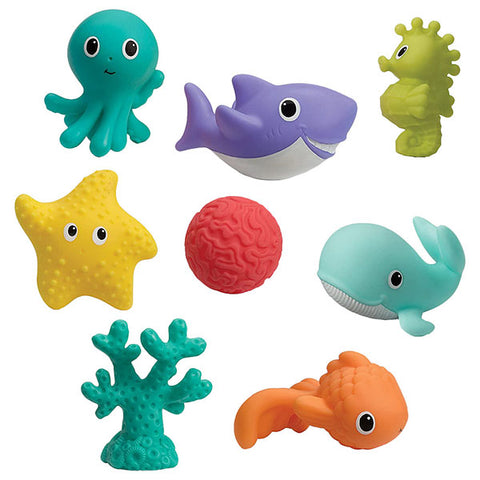 Infantino Aquarium Bath Squirter Toys | إنفانتينو أكواريوم باث سكويرتر تويز