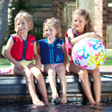 Konfidence Jacket - Buoyancy Aid for Swimming with Removeable Floats 6 - 7 yrs