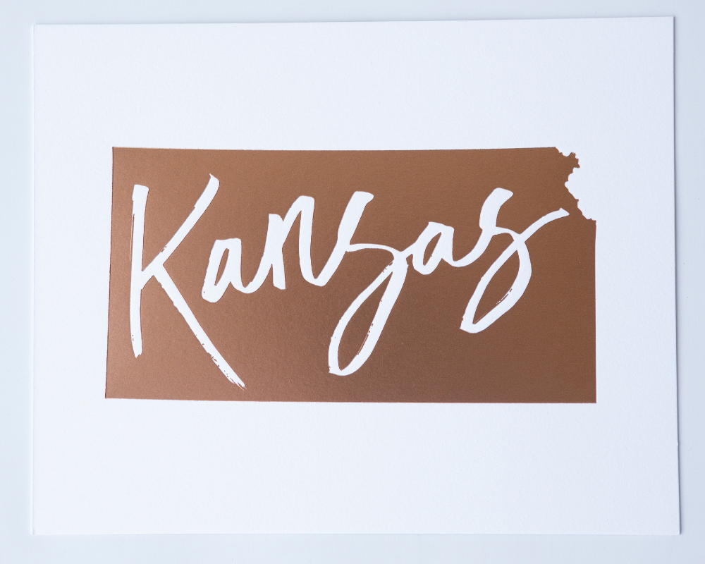Kansas Copper Art Print