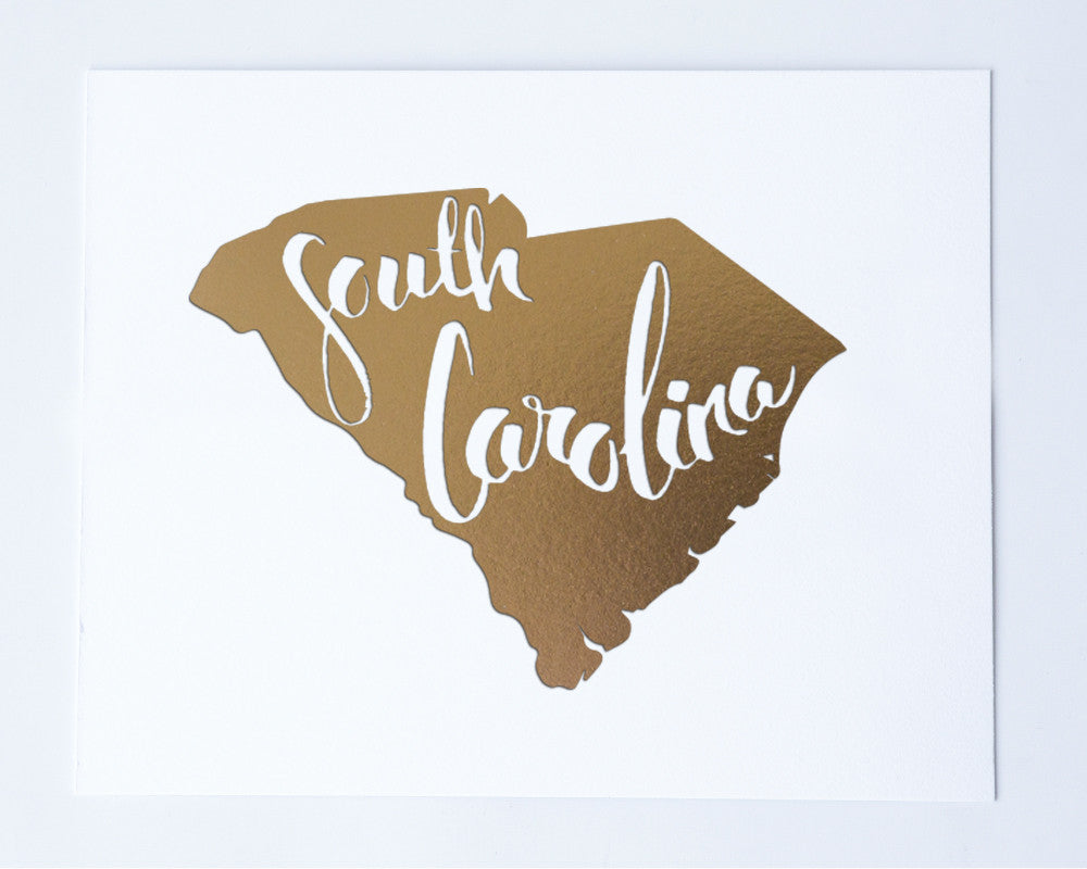 South Carolina Art Print