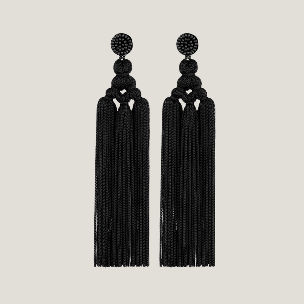 Extra Long Tassel Earrings