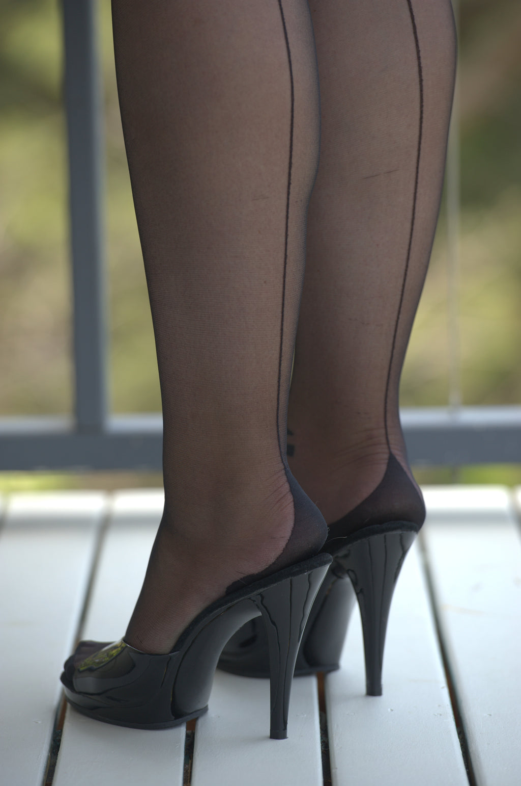 back view stockings