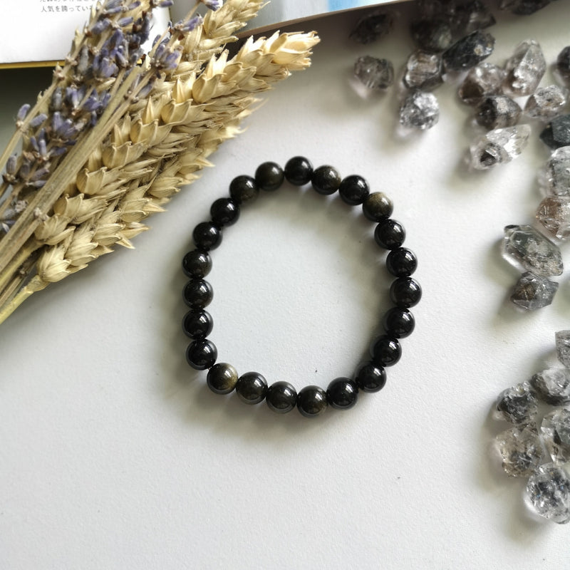 Gold Obsidian (8mm Beads)