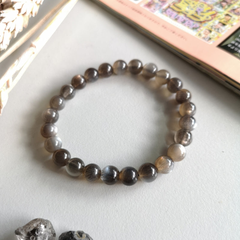Black Sunstone 7.6MM