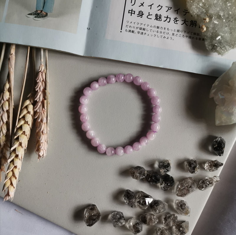 Kunzite  (8.2MM Beads)