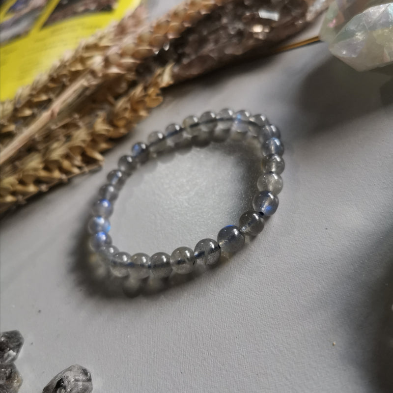 Labradorite (6.8mm Beads)
