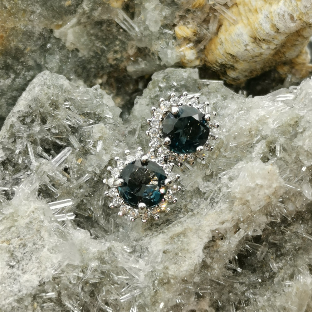 """ Sunshine"" London Blue Topaz Earrings"