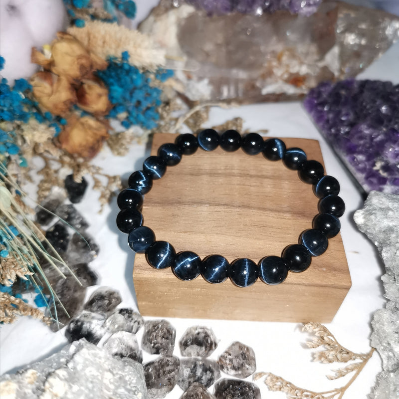 Blue Tiger Eye High Quality Bracelet