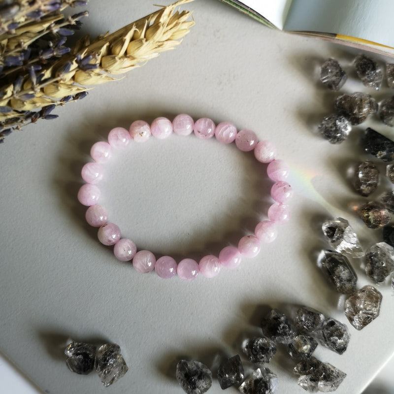 Kunzite B (low Grade) (8MM Beads)