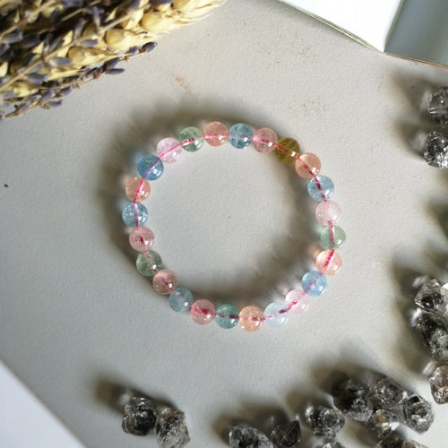 "Beryl ""Morganite"" AA Grade (8MM Beads)"