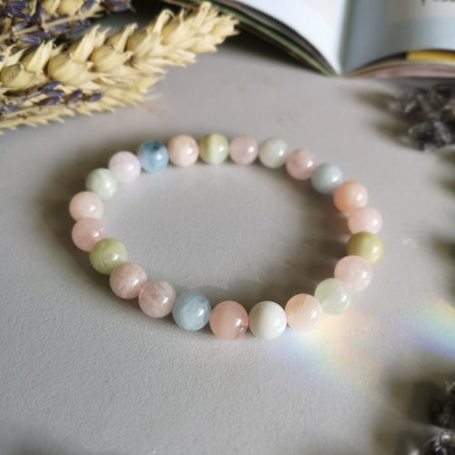 morganite b Grade (8MM Beads)
