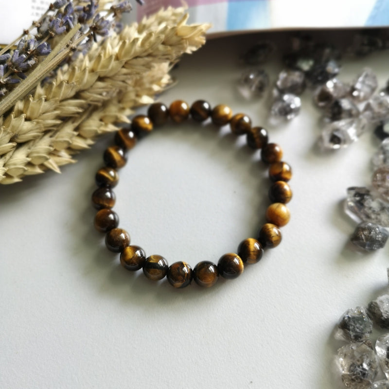 Yellow Tiger Eye (8mm Beads)