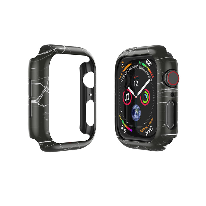 APPLE WATCH (44mm) PRISMART CASE: MARBLE BLACK Series 4/5