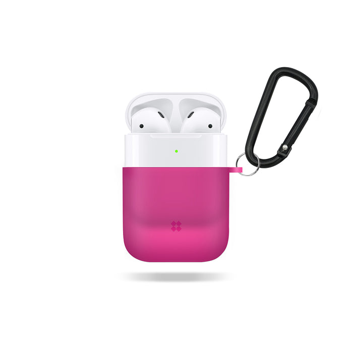 AIRPODS EXPLORER CASE: SHOCKING PINK