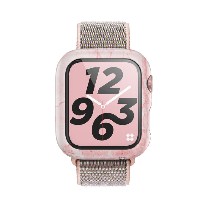 APPLE WATCH (40mm) PRISMART CASE: MARBLE PINK Series 4/5
