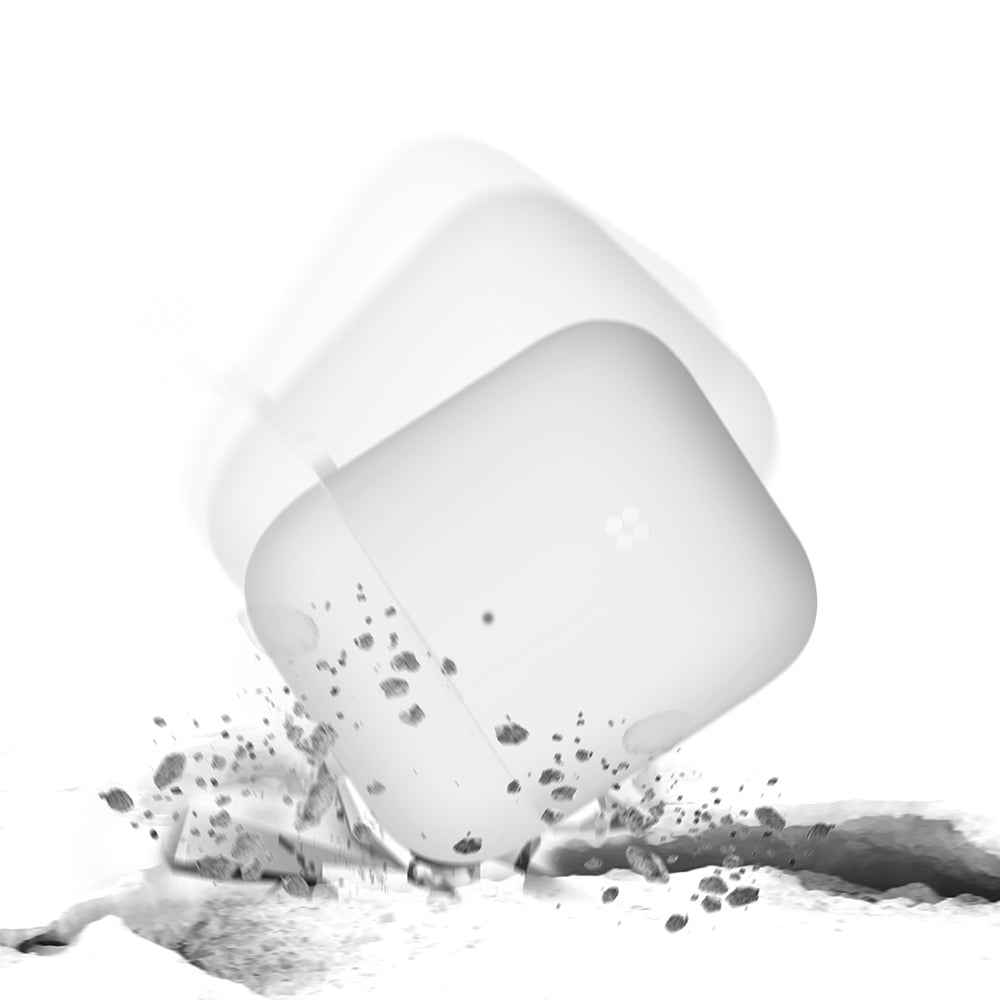 AIRPODS EXPLORER CASE: PEARL WHITE