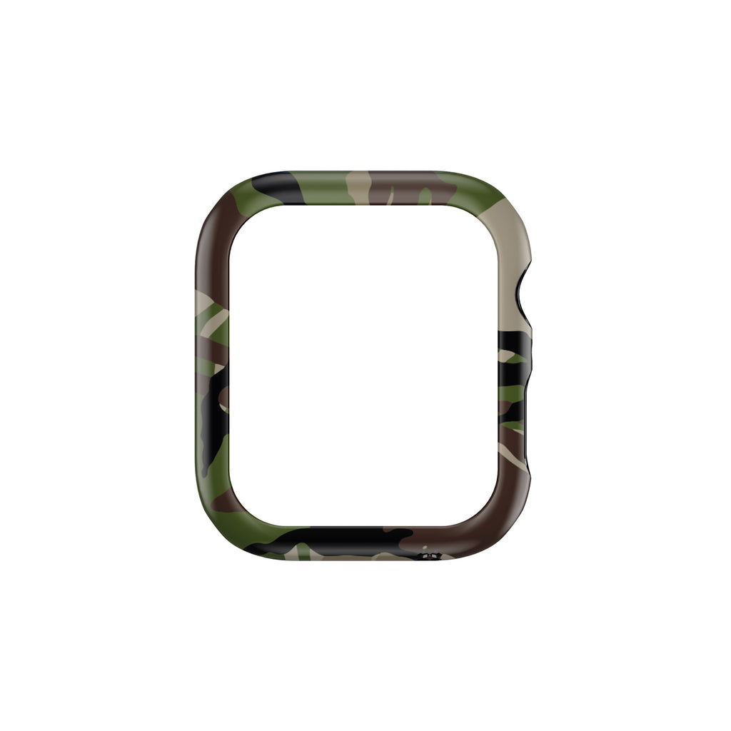 APPLE WATCH (40mm) PRISMART CASE: CAMO WOOD