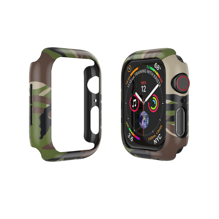 APPLE WATCH (44mm) PRISMART CASE: CAMO WOOD Series 4/5