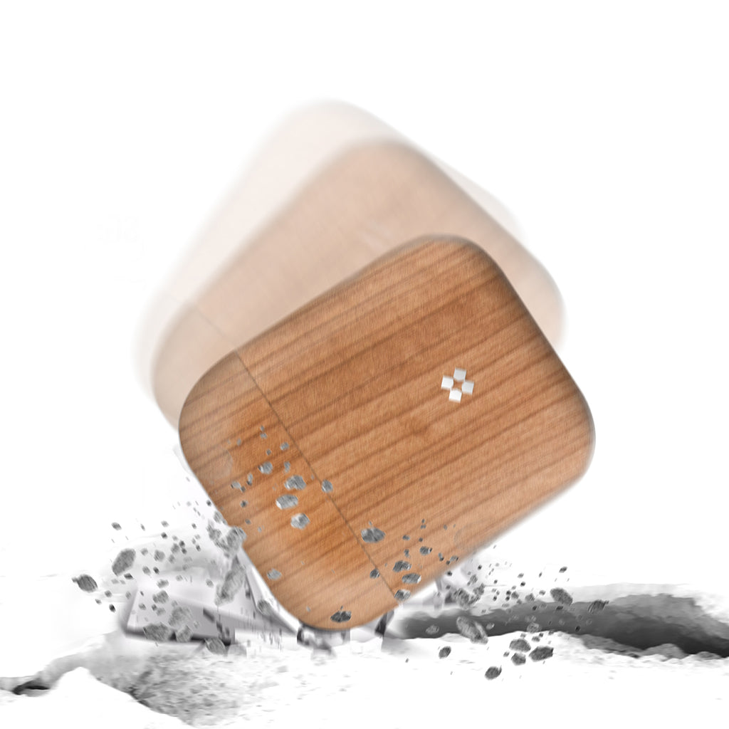 AIRPODS PRISMART CASE: WOOD CAMEL