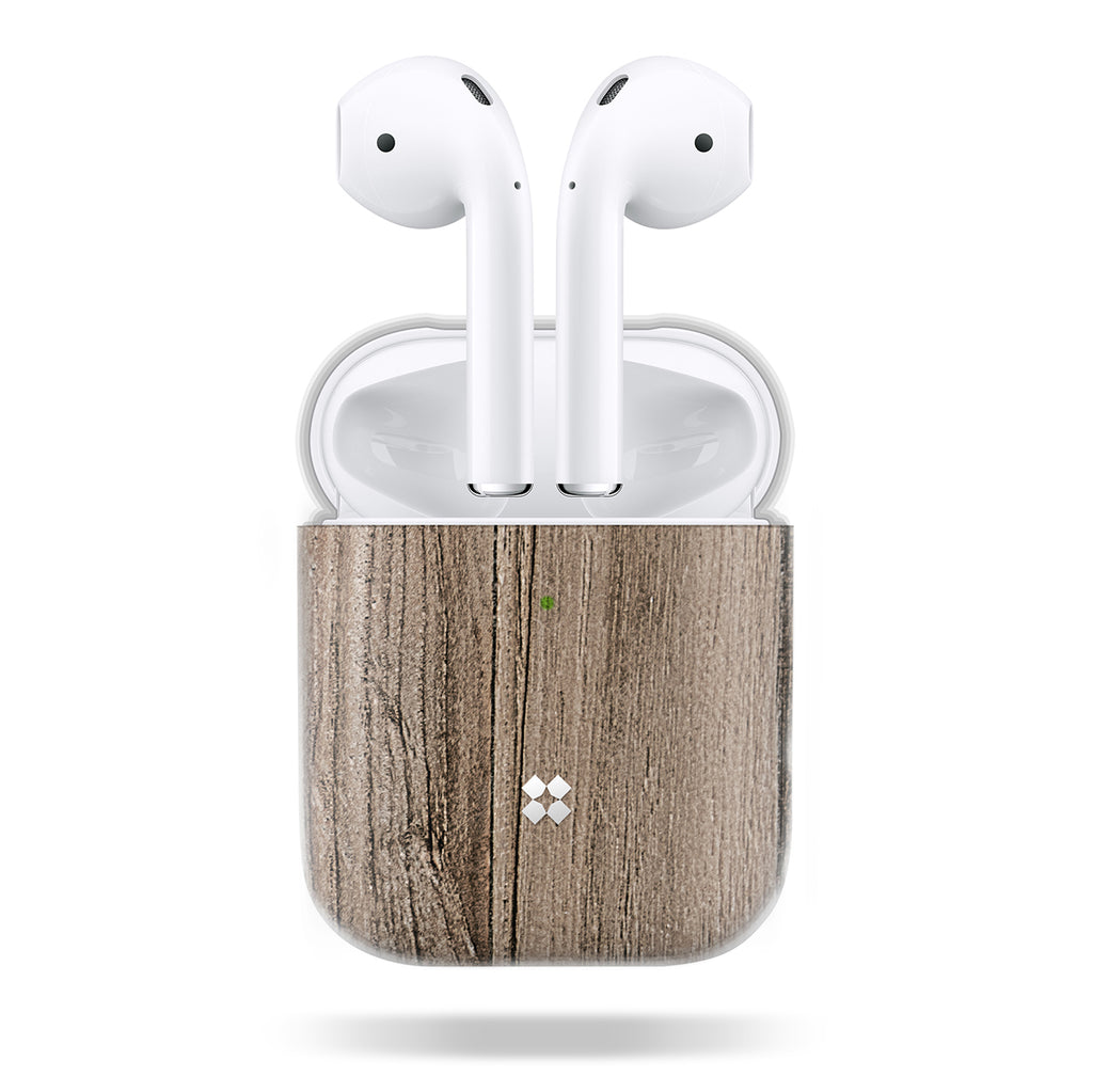 AIRPODS PRISMART CASE: WOOD BROWN