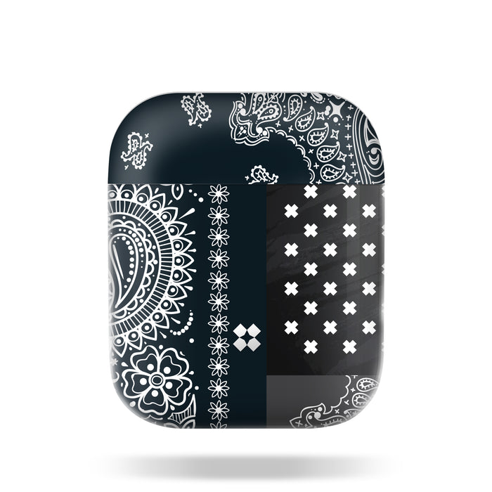 AIRPODS PRISMART CASE: PAISLEY BLACK