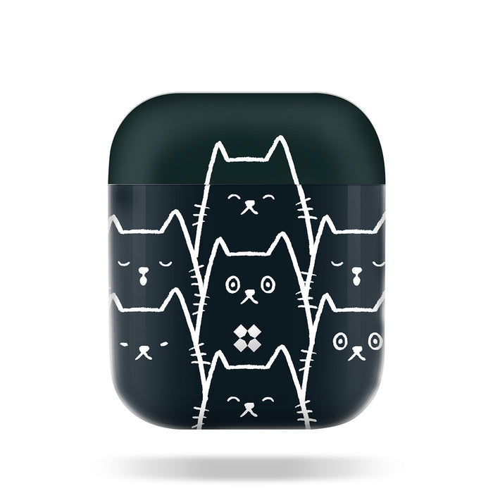 AIRPODS PRISMART CASE: BLACK CAT