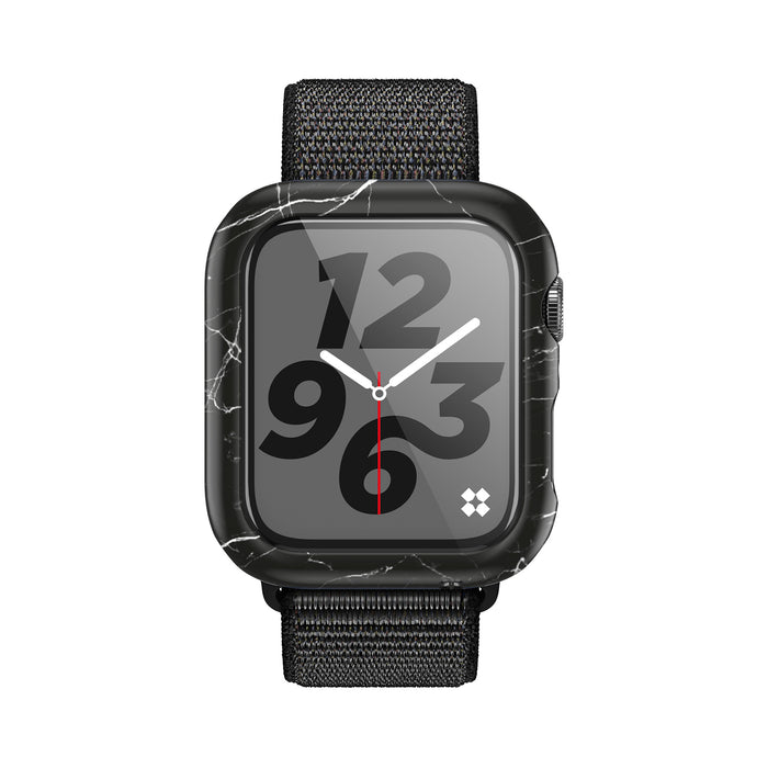 APPLE WATCH (40mm) PRISMART CASE: MARBLE BLACK Series 4/5