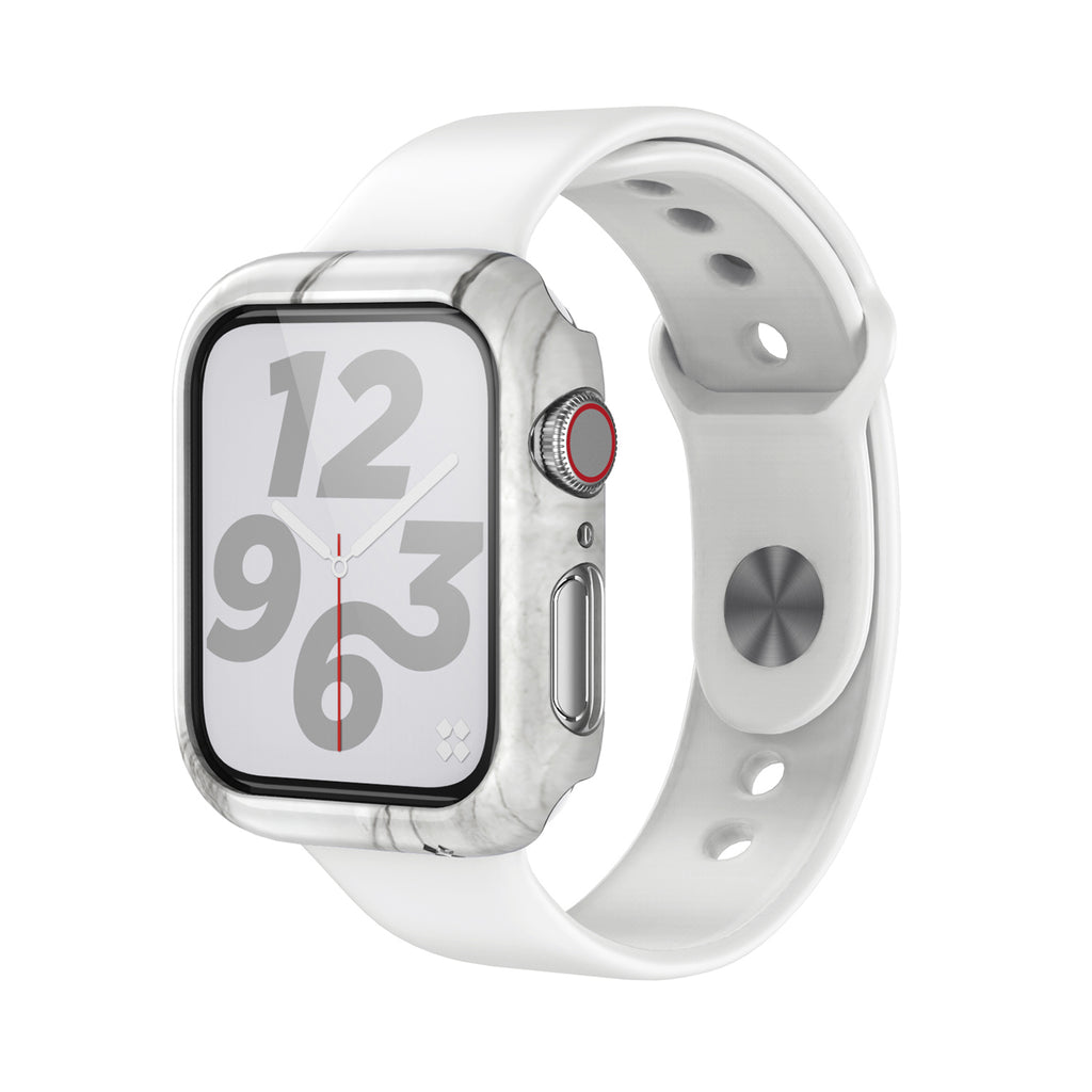 APPLE WATCH (40mm) PRISMART CASE: MARBLE WHITE Series 4/5