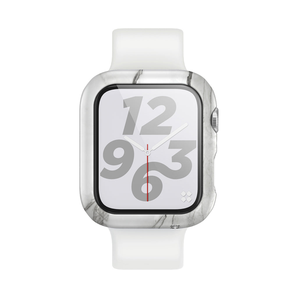 APPLE WATCH (44mm) PRISMART CASE: MARBLE WHITE Series 4/5