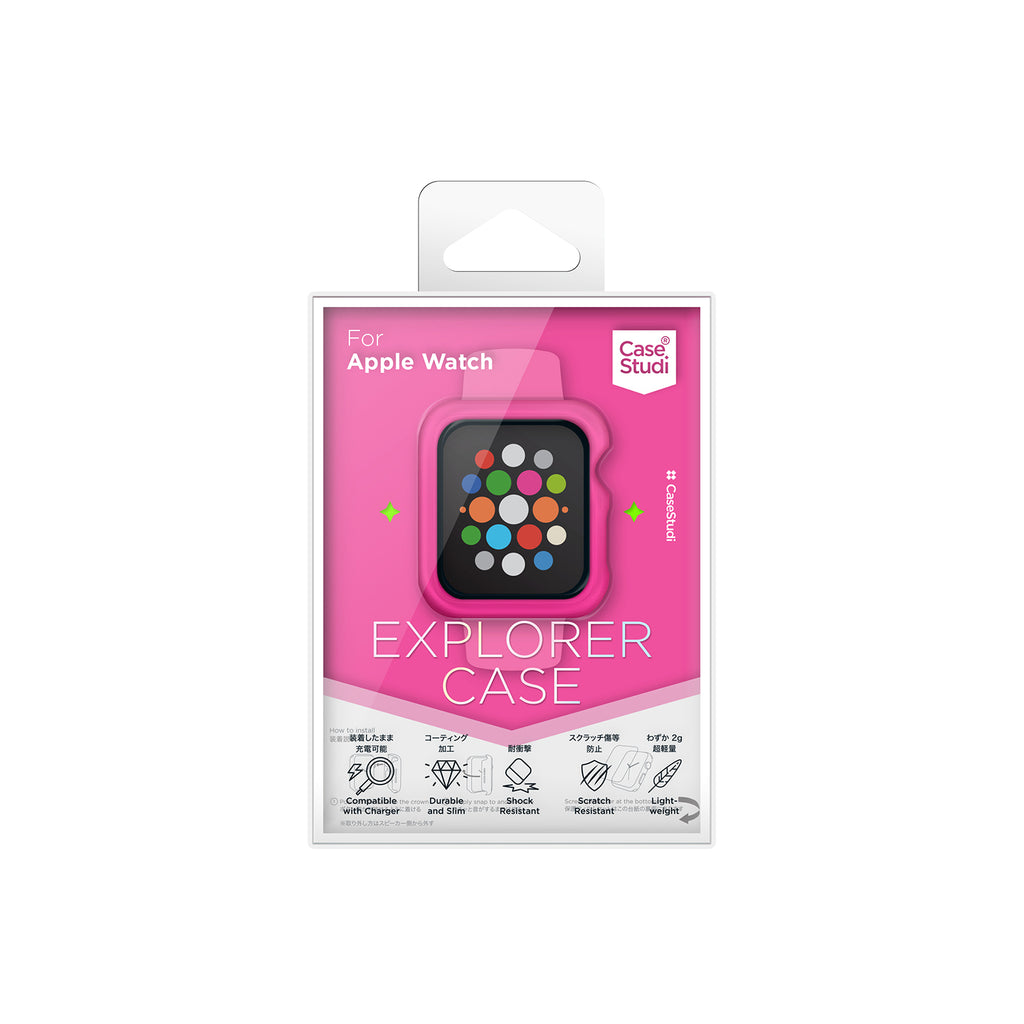 APPLE WATCH (40mm) EXPLORER CASE: SHOCKING PINK Series 4/5