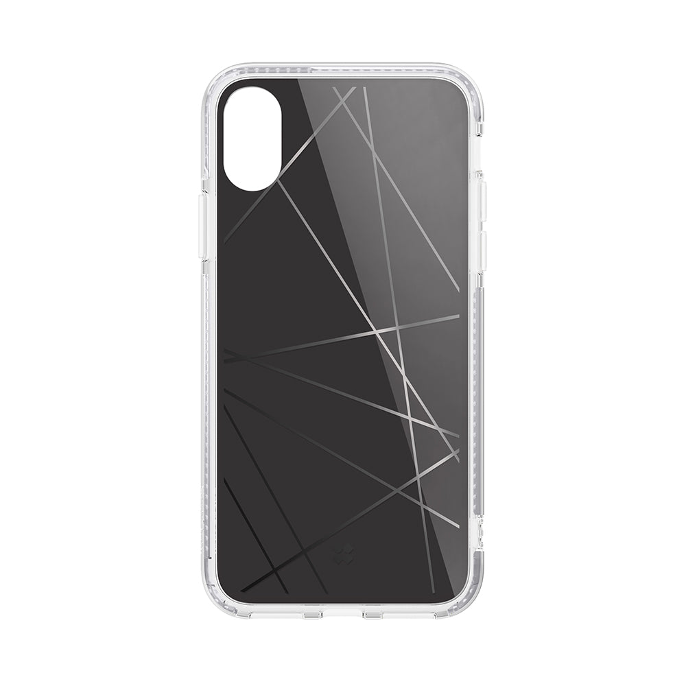 iPHONE XS PRISMART CASE: GEOMETRIC BLACK