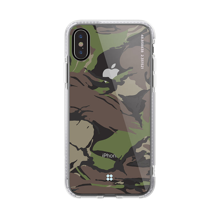iPhone XS MAX PRISMART CASE: CAMO WOOD