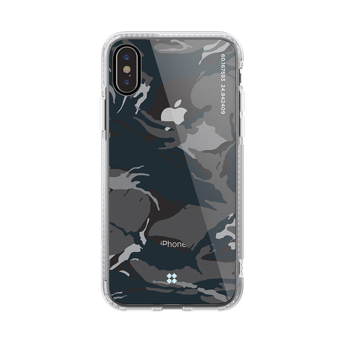 iPHONE XS PRISMART CASE: CAMO BLACK