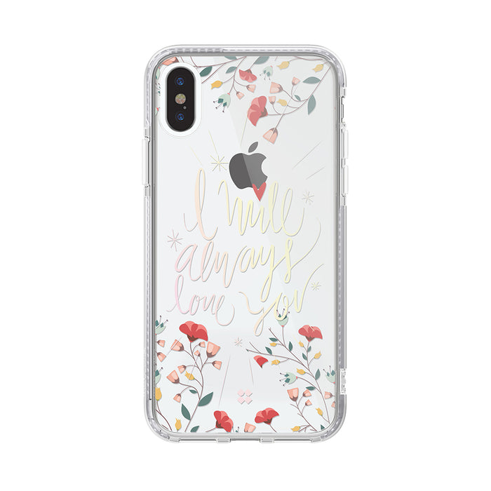 iPHONE XS PRISMART CASE: LOVE