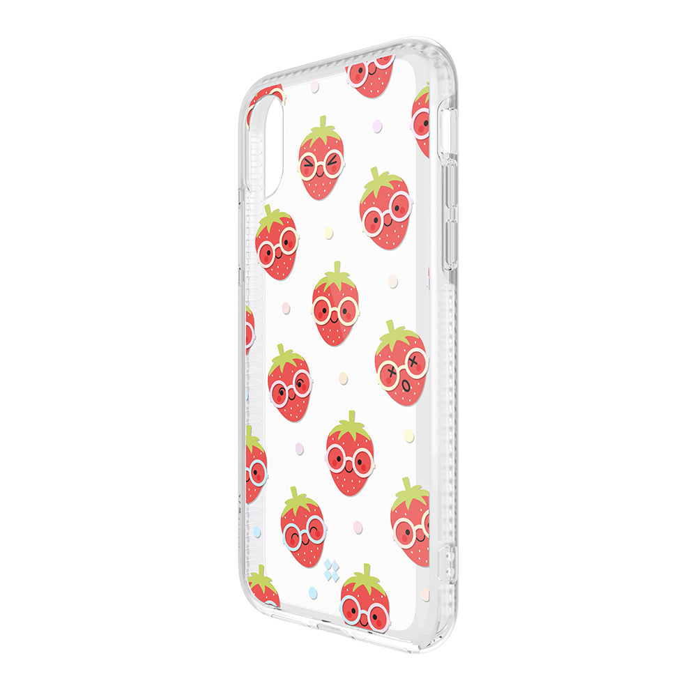 iPhone XS MAX PRISMART CASE: STRAWBERRY