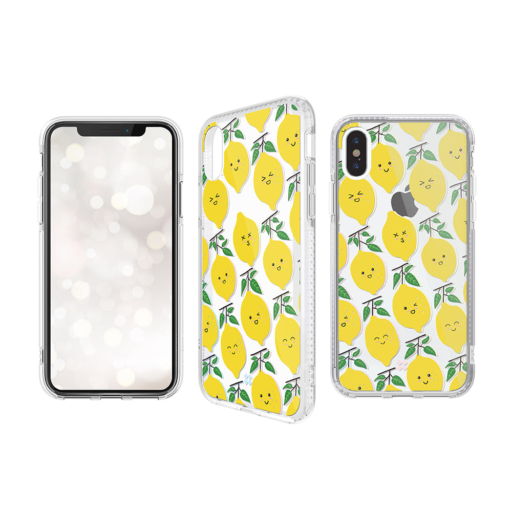 iPHONE XS PRISMART CASE: LEMON