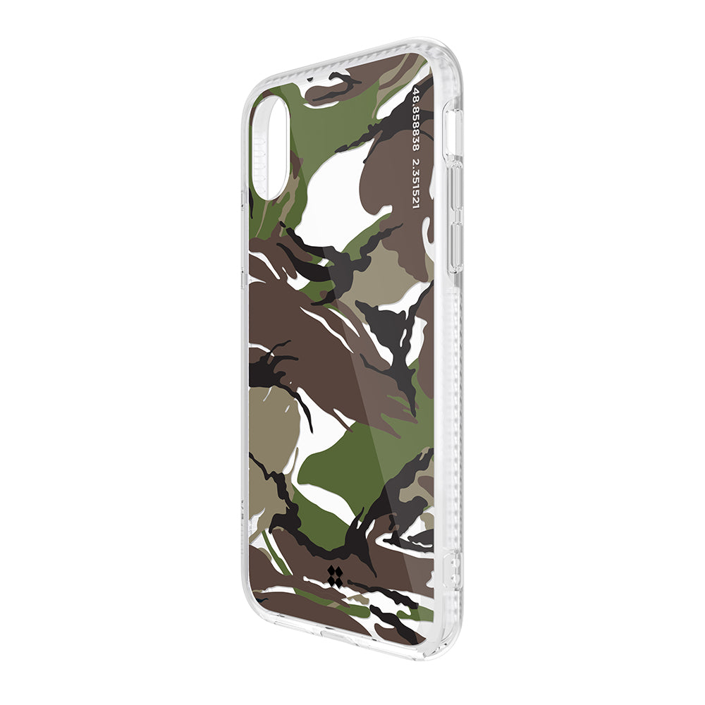 iPhone XR PRISMART CASE: CAMO WOOD