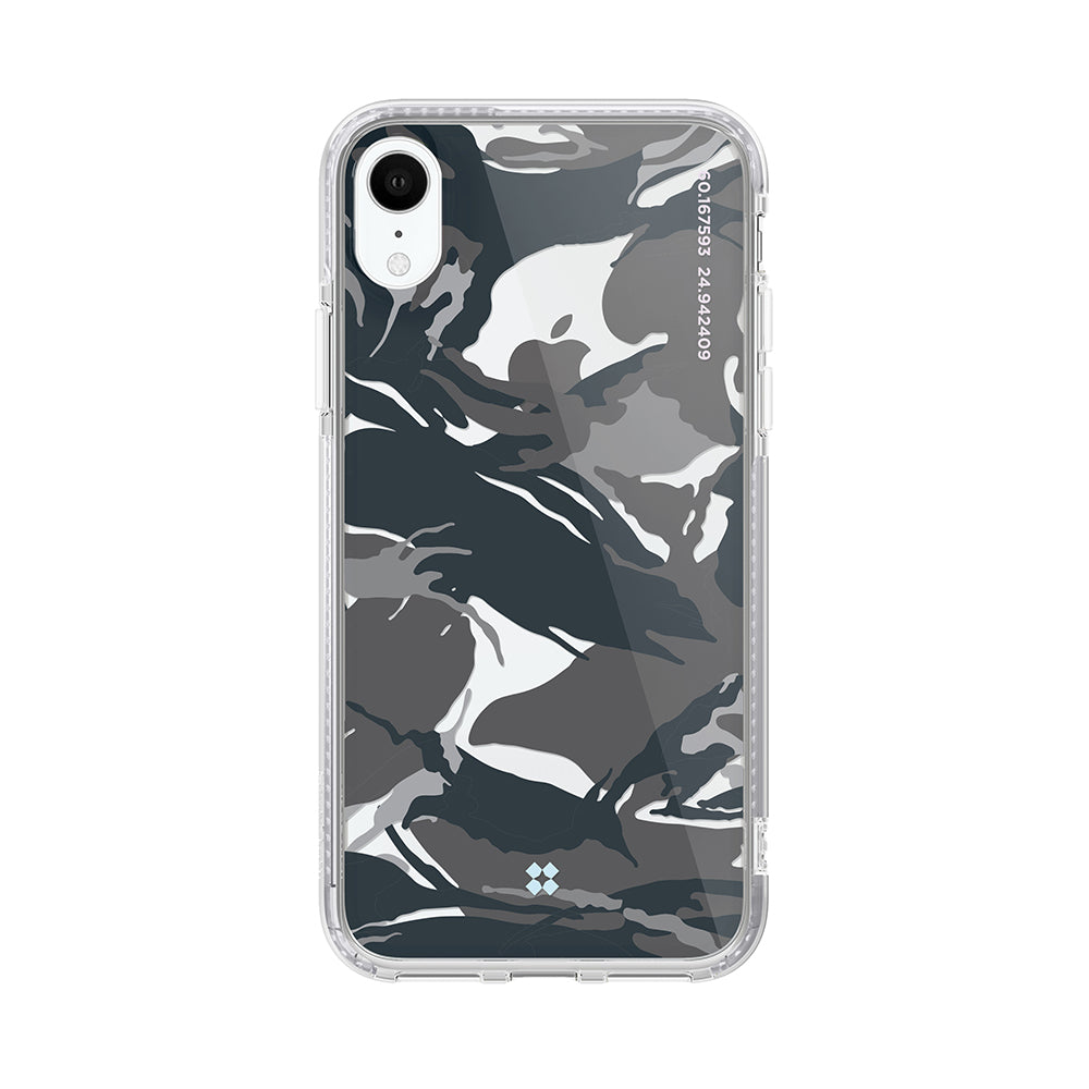 iPhone XR PRISMART CASE: CAMO BLACK