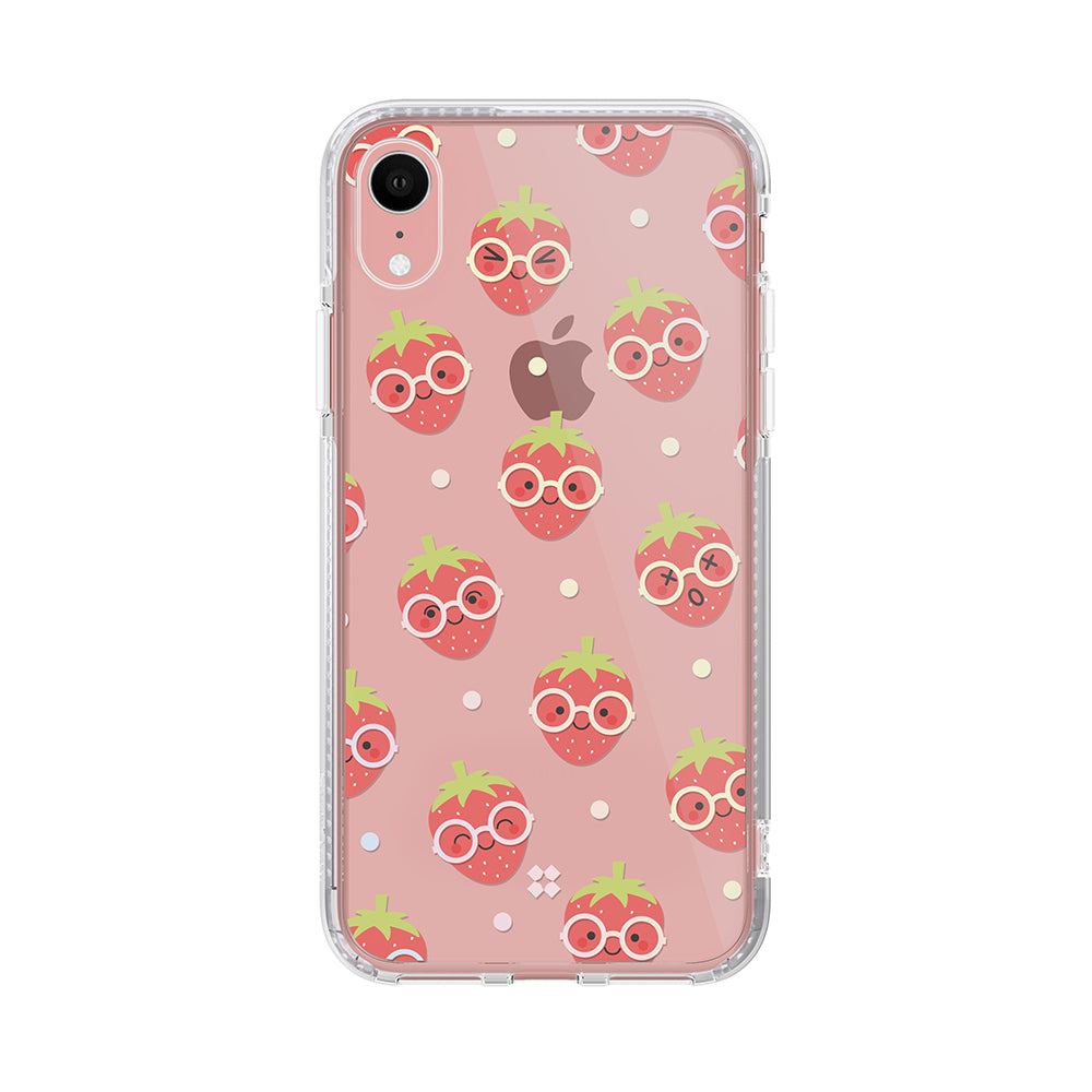 iPhone XR PRISMART CASE: STRAWBERRY