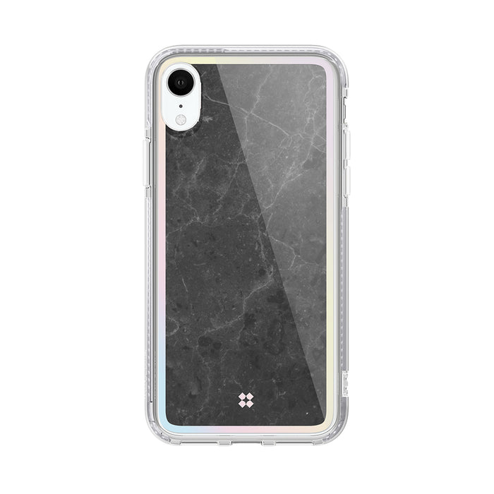 iPhone XR PRISMART CASE: MARBLE BLACK