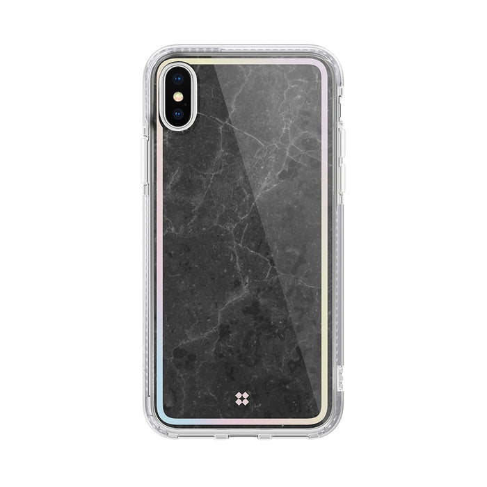 iPhone XS MAX PRISMART CASE: MARBLE BLACK