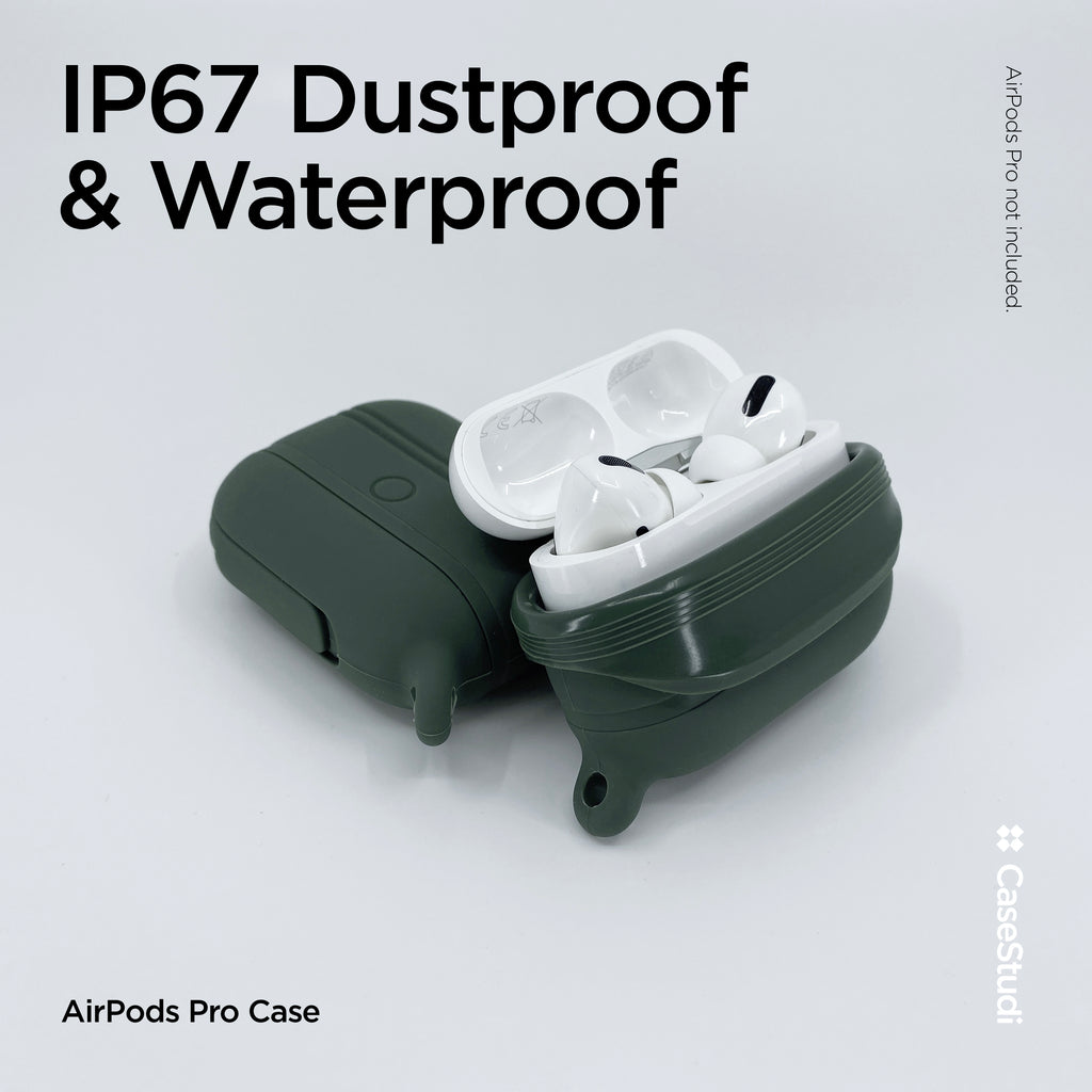 AIRPODS PRO WATERPROOF CASE: GREEN