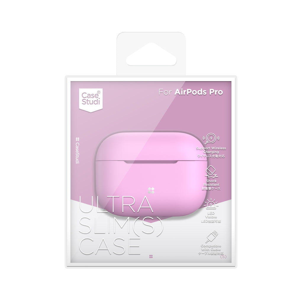 AIRPODS PRO ULTRA-SLIM (S) CASE: PINK