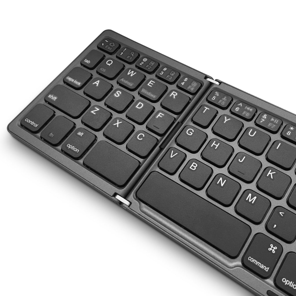 FOLDBOARD TOUCH: FOLDING KEYBOARD WITH TOUCHPAD (BLACK)