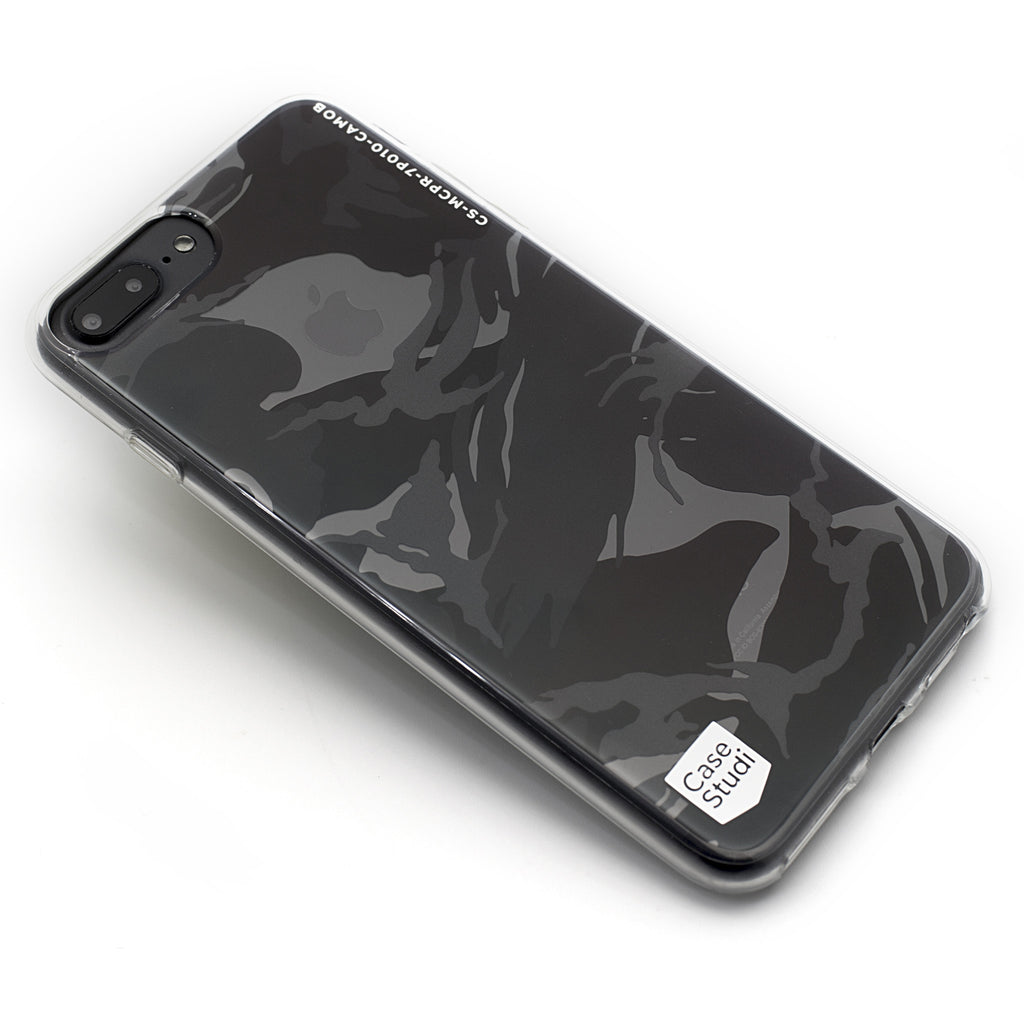 iPHONE 7 / 7 PLUS PRISMART CASE: CAMO BLACK