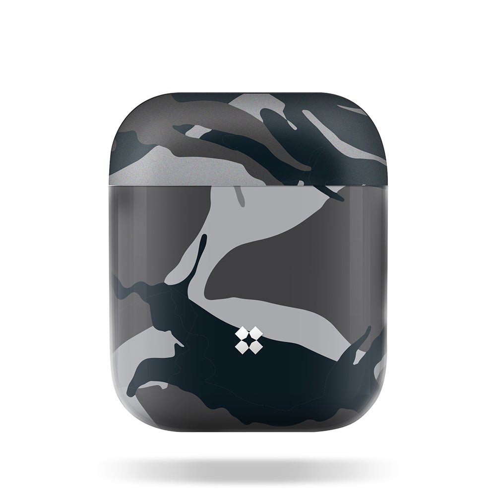 AIRPODS PRISMART CASE: CAMO BLACK