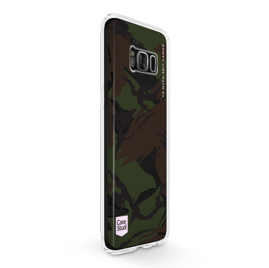 GALAXY S8 / S8 PLUS PRISMART CASE: CAMO GREEN