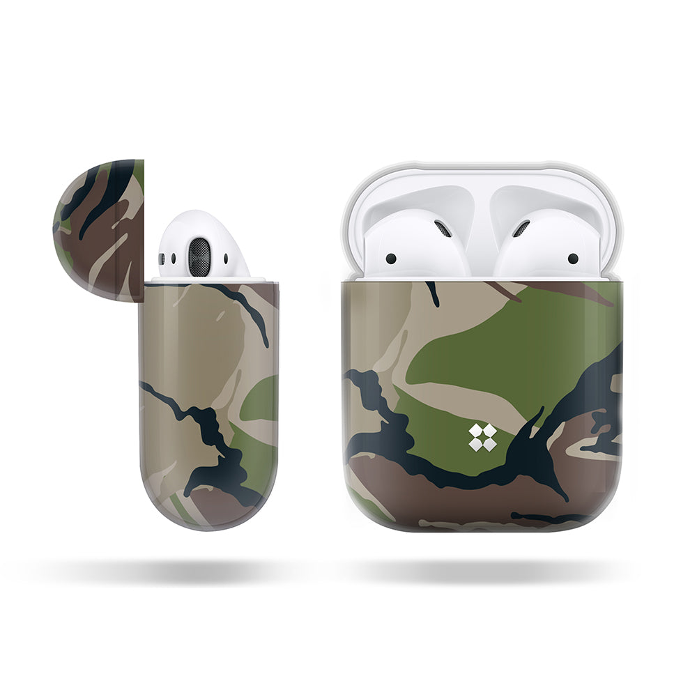 the latest aff28 91f95 AIRPODS PRISMART CASE: CAMO WOOD