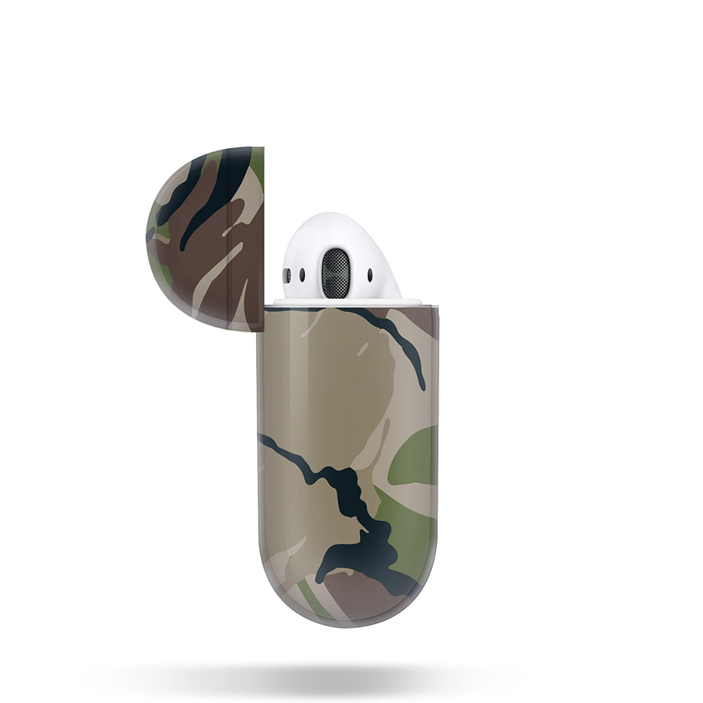 AIRPODS PRISMART CASE: CAMO WOOD