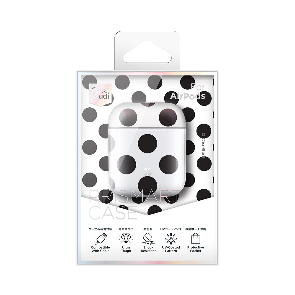 AIRPODS PRISMART CASE: POLKA DOT